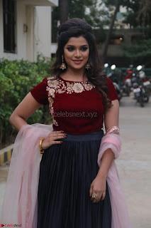 Actress Aathmika in lovely Maraoon Choli ¬  Exclusive Celebrities galleries 006.jpg
