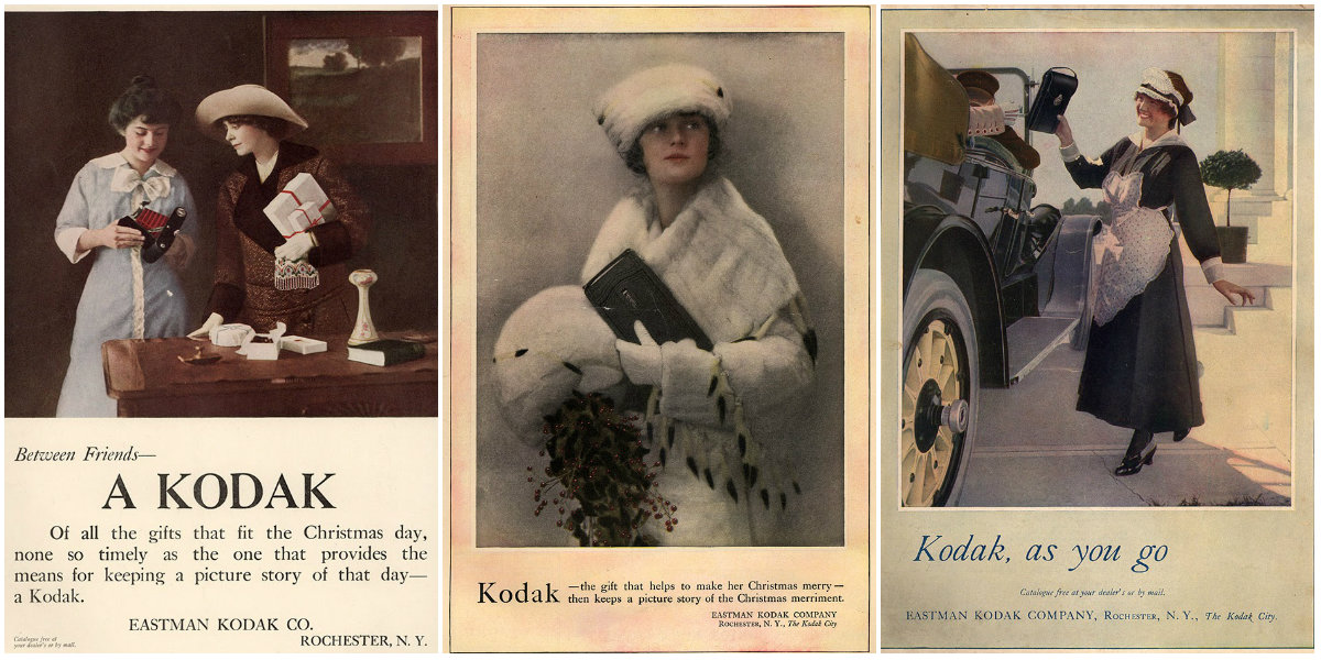10 Beautiful Advertisements Of The First Kodak Brownie Cameras In The 1910s Vintage Everyday