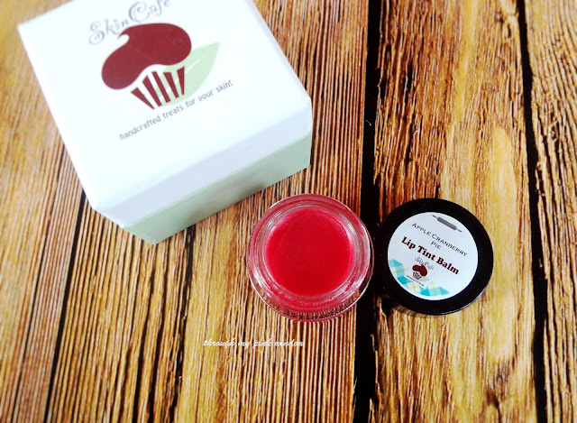 Review of SkinCafe Tiramisu Lip Scrub and Apple Cranberry Pie Lip Tint Balm