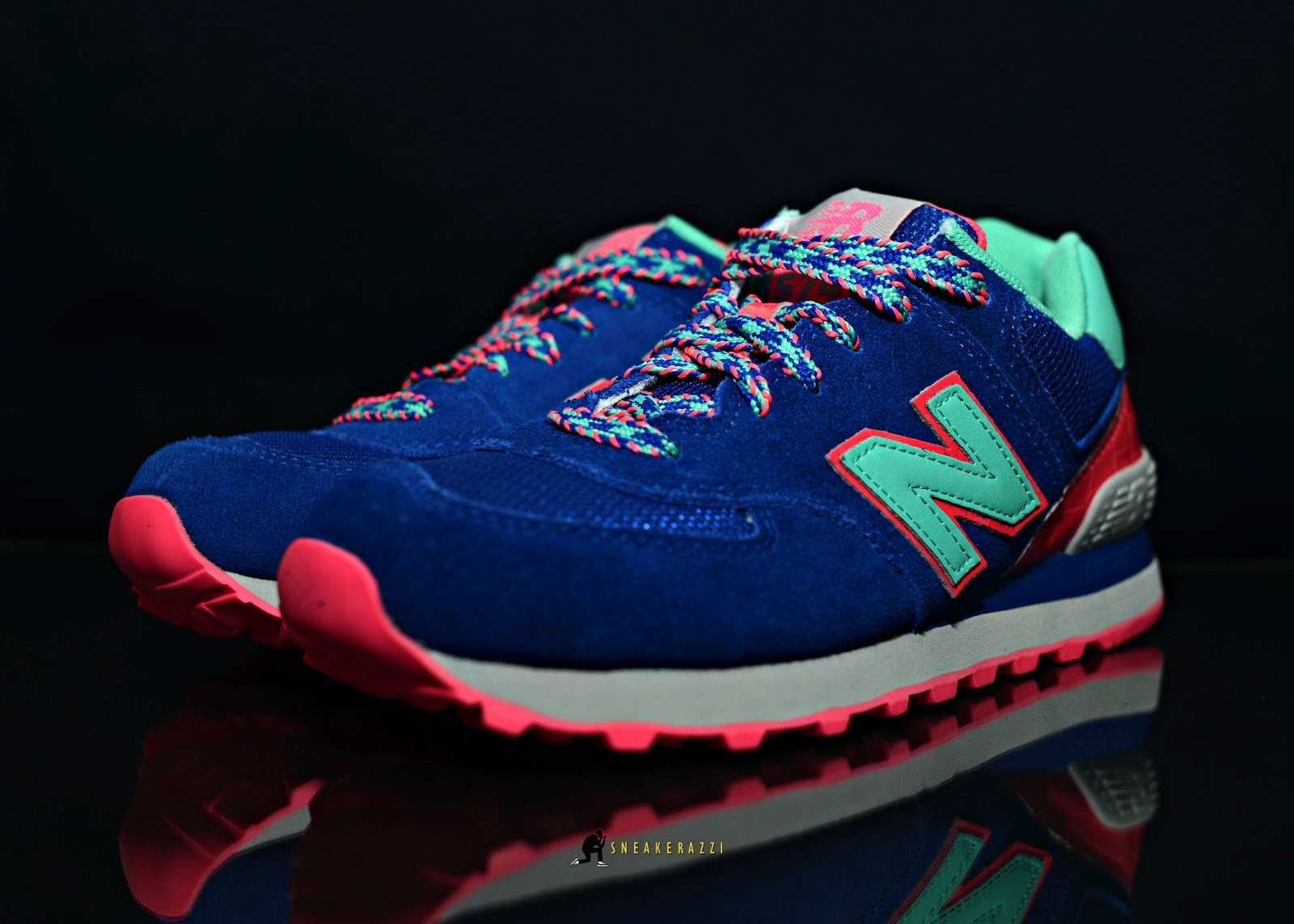 new balance 574 blue candy