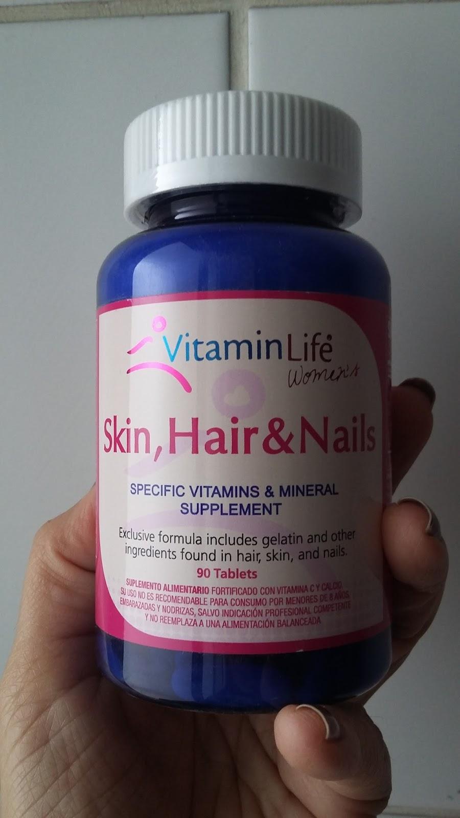 Vitaminas Para El Cabello Uñas Y Piel Skin Hair And