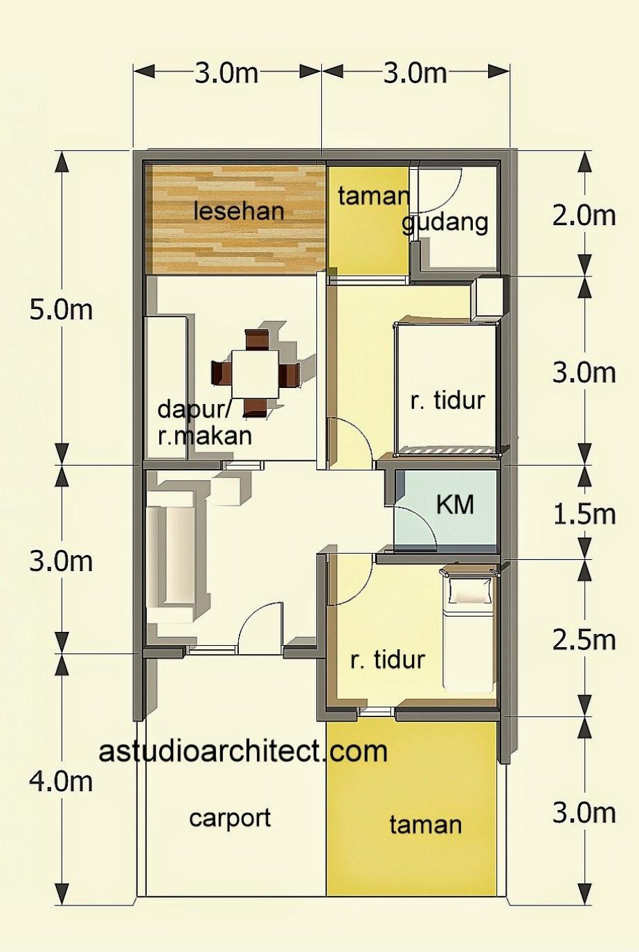 Mengenal Atap Rumah Minimalis 6 X 10