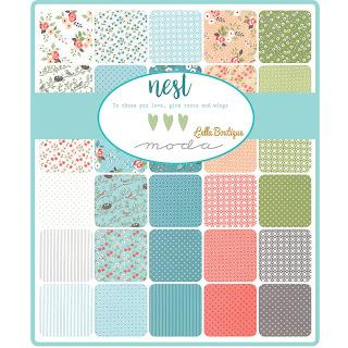 Moda Nest Fabric by Lella Boutique for Moda Fabrics