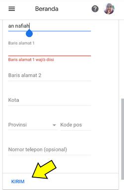 cara daftar google adsense di hp android