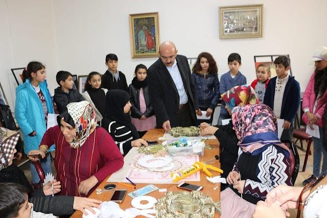 Göker'den Bozova Halk Eğitime ziyaret