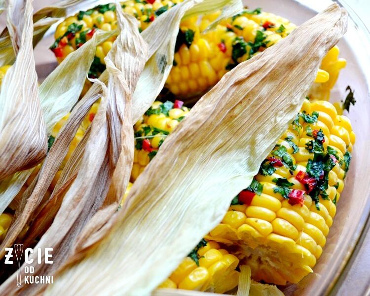 kukurydza pieczona, kukurydza,