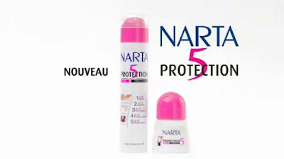 Anti-Transpirant Protection 5 Peau + Vêtements - Narta