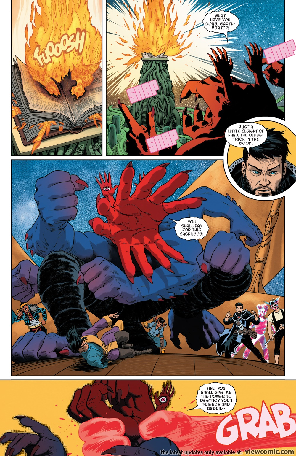 Doctor Strange and the Sorcerers Supreme 009 (2017) | Vietcomic.net reading comics online for free
