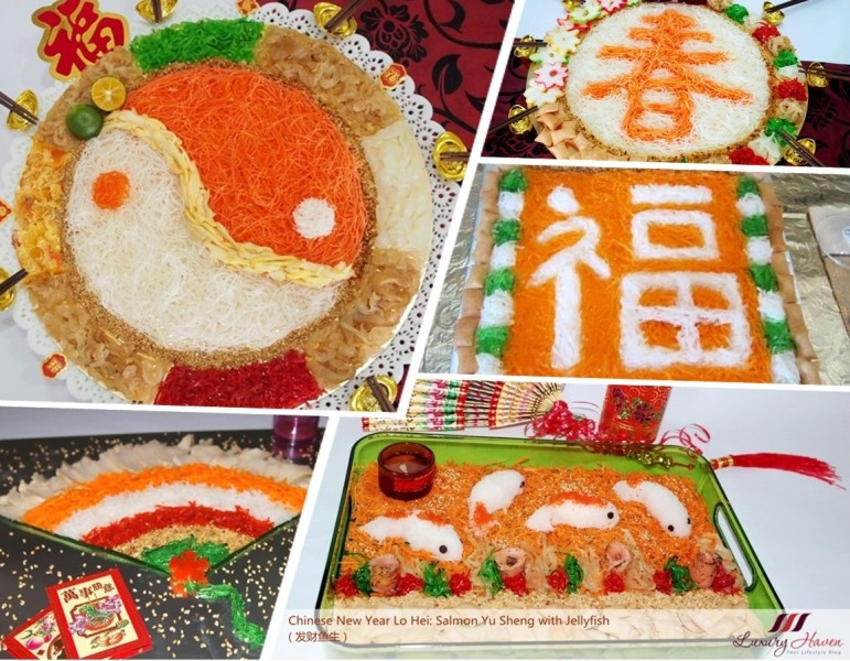 creative chinese new year yu sheng round up