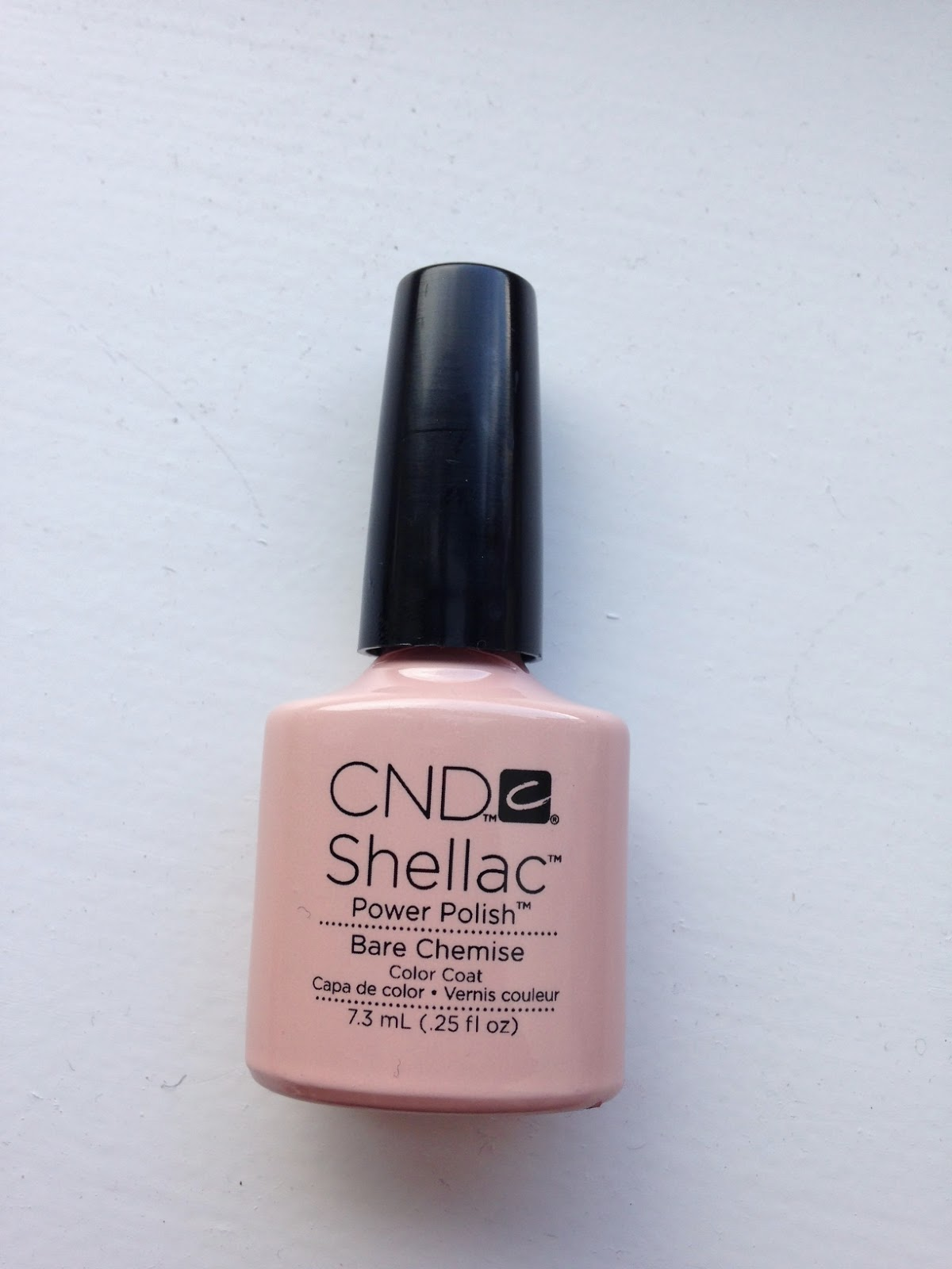 Cnd Creative Play Nail Lacquer Reviews In Nail Polish: CND Shellac Bare Chemise