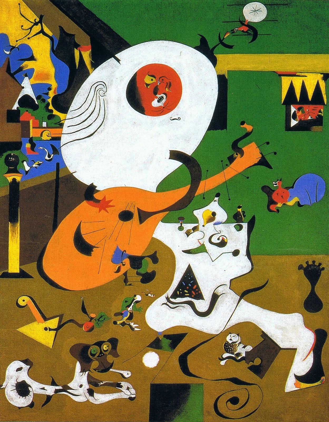 Interior Holandês l - Miró, Joan e suas principais pinturas
