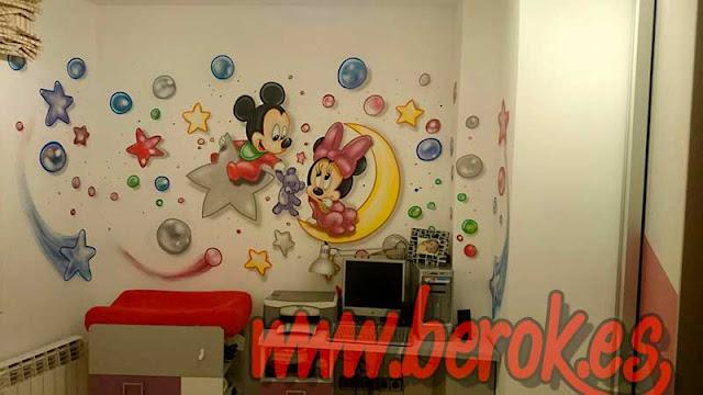 murales para habitacion de niña