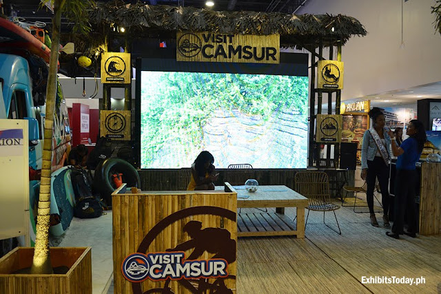 Camsur Exhibit Booth