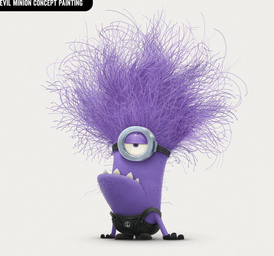 The gallery for --> Despicable Me 2 Purple Minions Kevin
