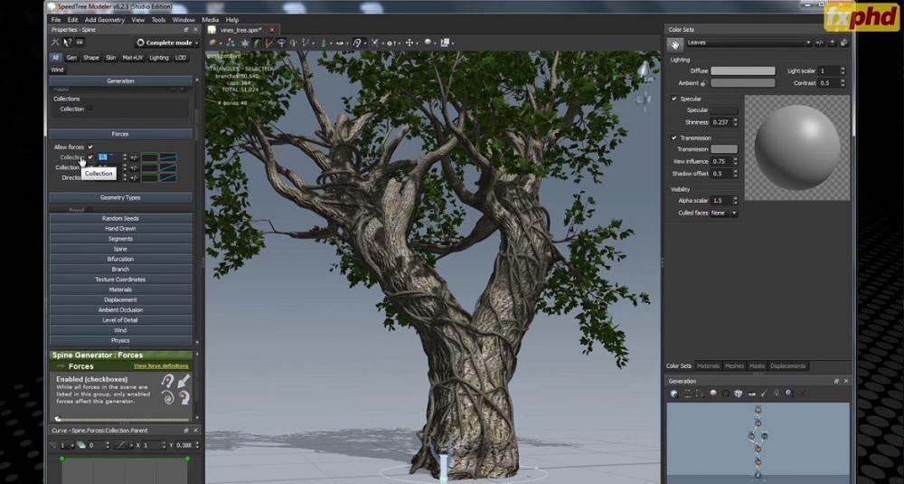 [Fxphd] PNT205 3D Plants and Digital Environments[2013, RUS]