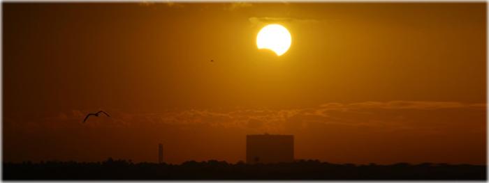 eclipse solar parcial 11 de agosto de 2018