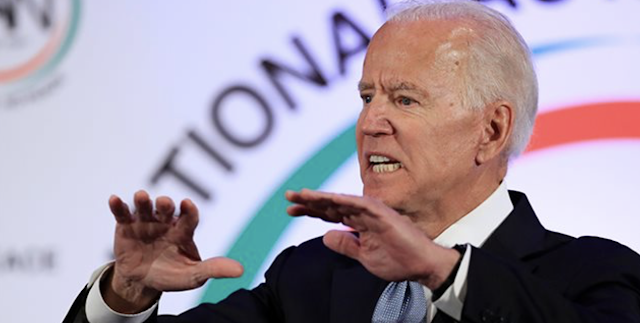 What? Biden's Spokesperson Blames 'Right Wingers' for Sexual Allegations Made by a Democrat