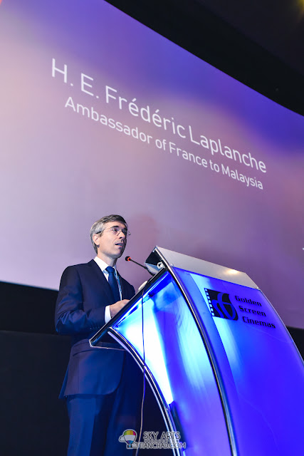 H.E. Mr. Frédéric Laplanche - Le French Festival 2018 Launching at GSC Pavilion KL, Malaysia