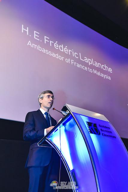 H.E. Mr. Frédéric Laplanche - Le French Festival 2018 Launching at GSC Pavilion KL, Malaysia
