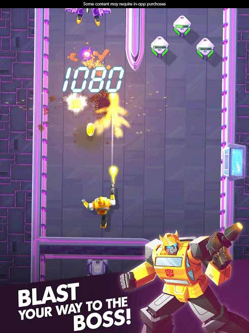 Transformers Bumblebee Overdrive apk mod free Download