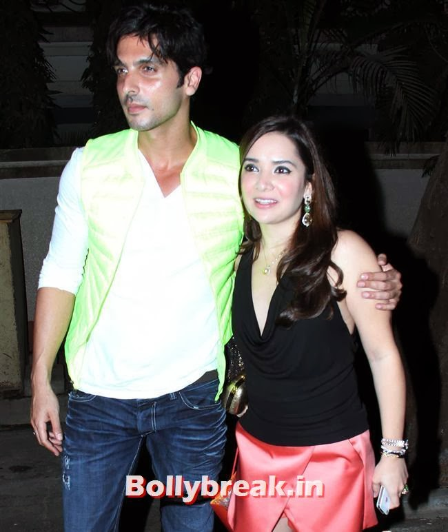 Zayed Khan and Mallika, Simone Khan Birthday Bash Pics
