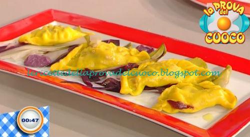 Ravioli al vapore con robiola e bresaola ricetta Piparo da Prova del Cuoco