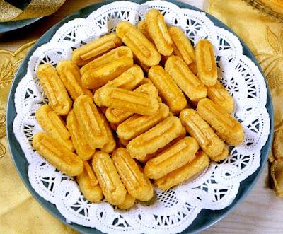 Cara Membuat Kastengel Durian Keju Renyah