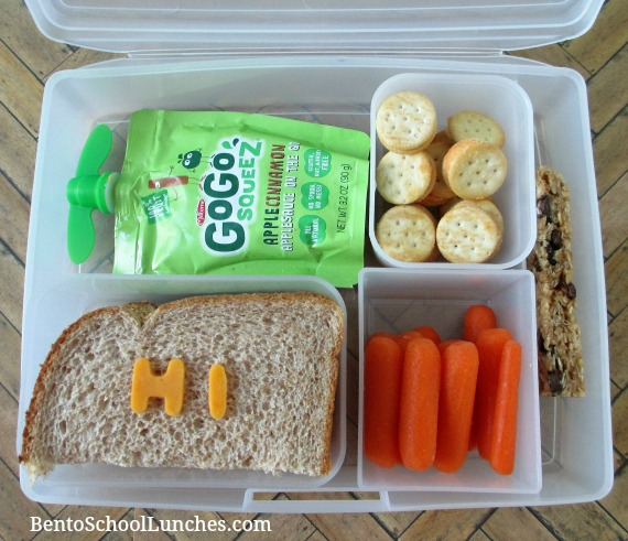 HI, a simple sandwich lunch