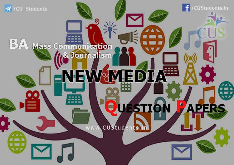 New Media Previous Question Papers