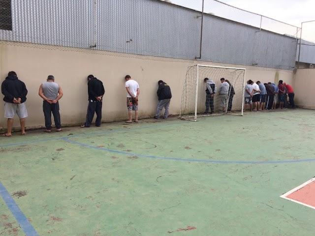 6 policiais são presos em mega operação contra o trafico de droga em Colombo