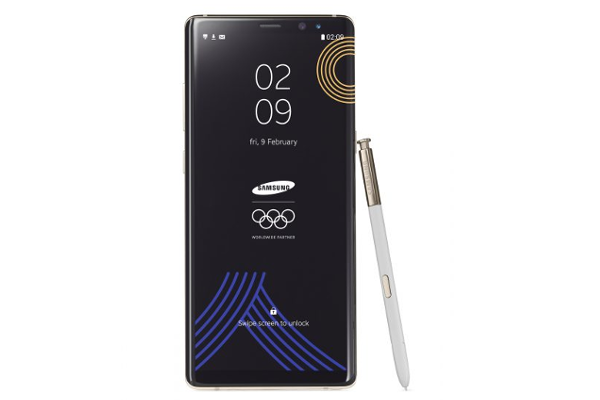 SAMSUNG launches Galaxy Note 8 PyeongChang 2018 Olympic Games Limited Edition
