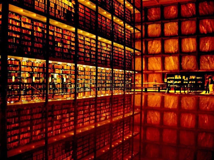 28. Beinecke Rare Book and Manuscript Library, New Haven, USA - 31 Incredible Libraries and Bookstores Around the World