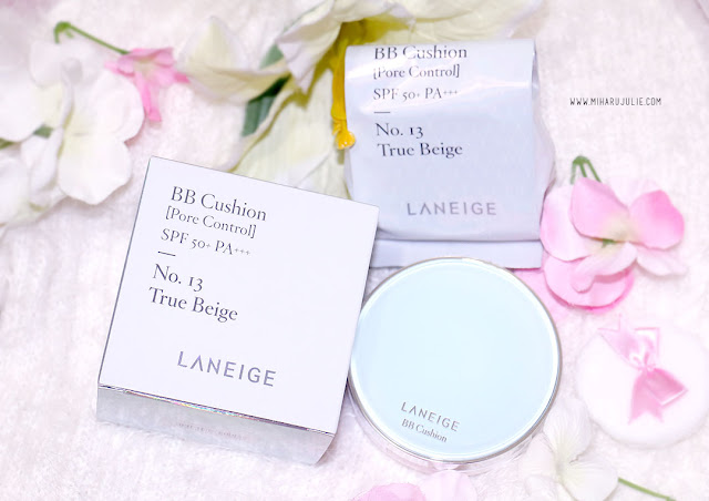 Laneige BB Cushion Pore Control SPF 50+ No 13 True Beige Review