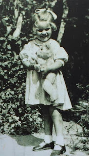 Pauline Boty as a small child
