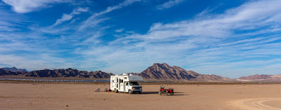 The Southwestern Sojourn - Day 21: Boondocking near Boulder City, Nevada