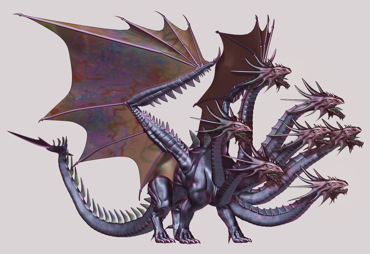 Motherhood DeletedGreek Mythology Hydra
