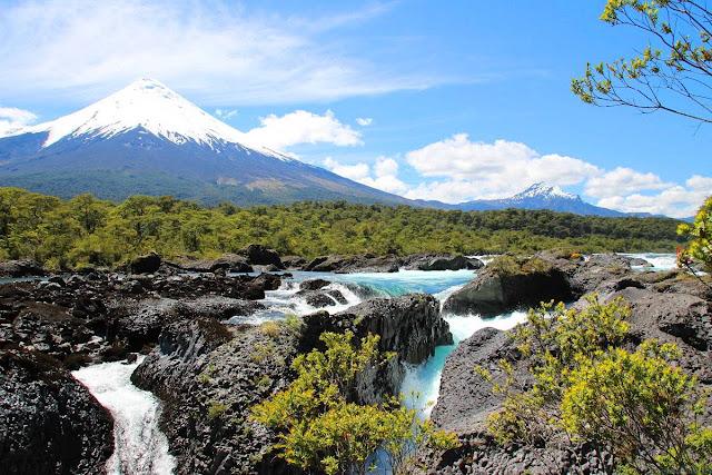 Parque Nacional Vicente Perez Rosales em Puerto Varas, no Chile