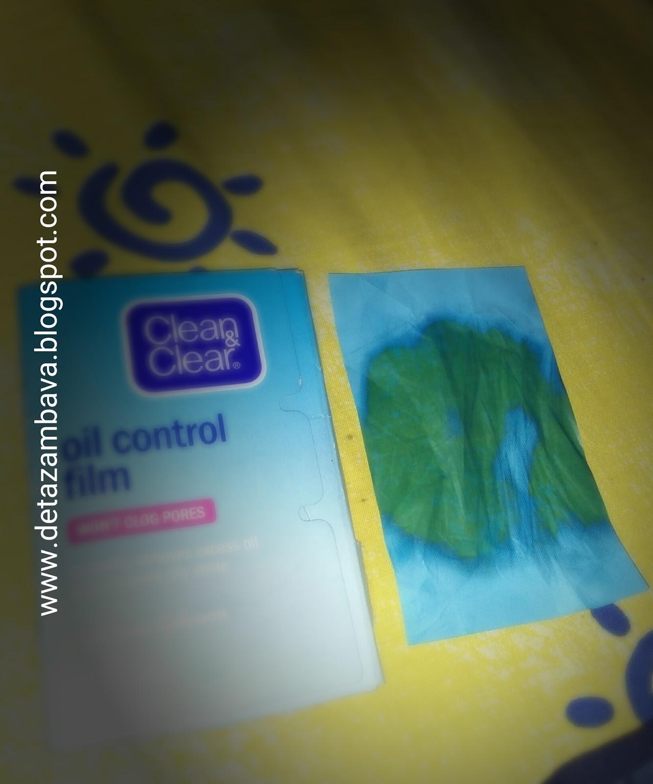 Bunga Lotus Clean Clear Oil Control Film