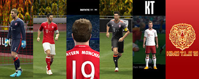 PES 2013 Bayern Munchen Full GDB 2016-17 By KIMO T.L.B 19