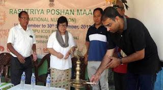 'Rashtriya Poshan Maah'