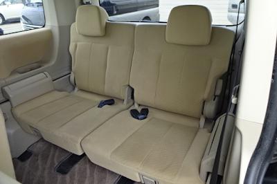 Interior Kabin Belakang Mitsubishi Delica