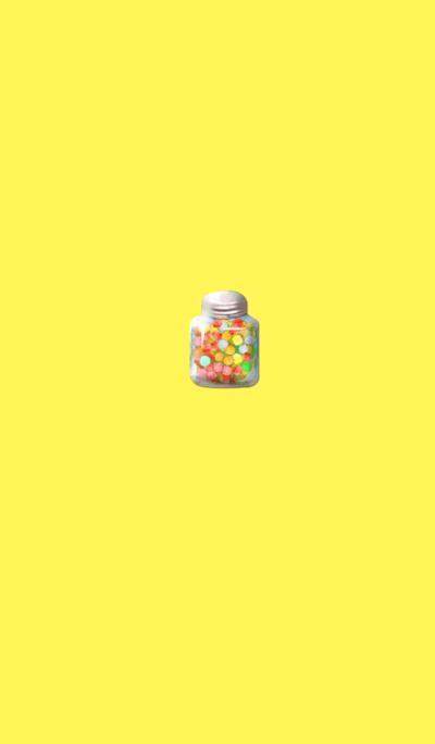 Cute little sprinkle yellow
