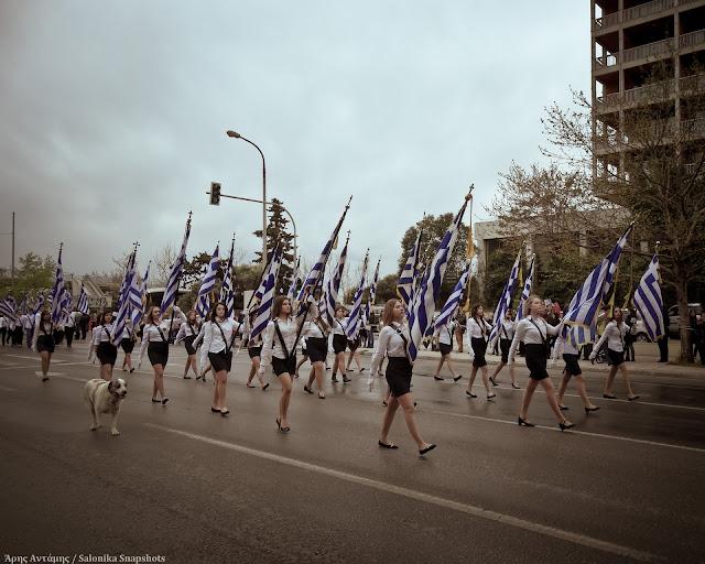 Θεσσαλονίκη: Η παρέλαση της 25ης Μαρτίου 2016 σε φωτογραφίες