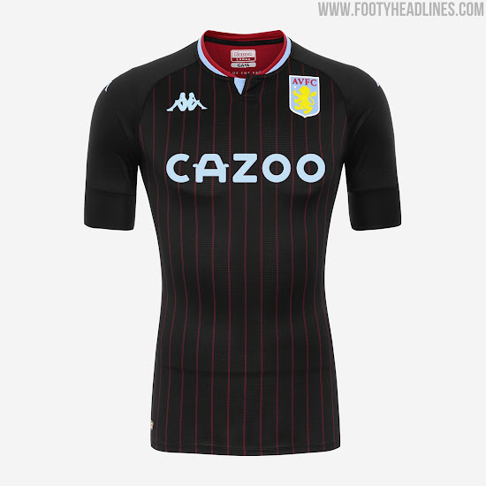 Aston Villa 20 21 Away Kit Released Third Kit Leaked Footy Headlines