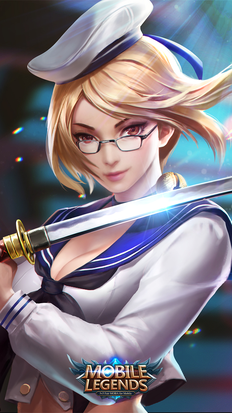 Hd wallpaper mobile legends - Fanny Campus Youth