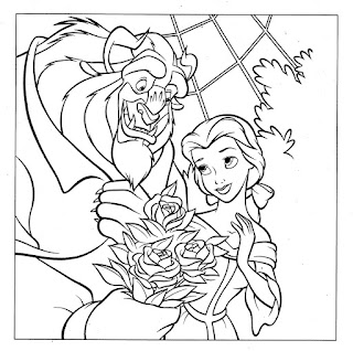 FREE Disney Princess Valentines Day Coloring Pages