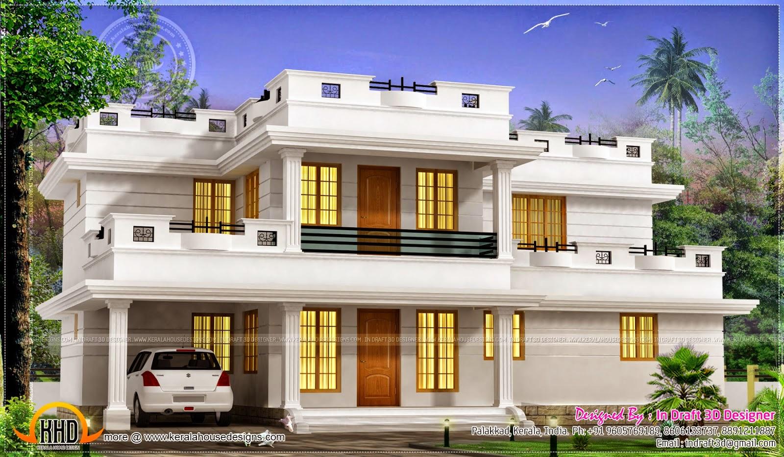 Desain Rumah Minimalis Atap Datar Kumpulan Desain Rumah