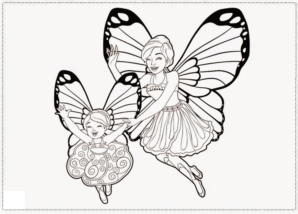 Desenhos A Barbie Mariposa E Suas Amigas Fadas Mariposas Para