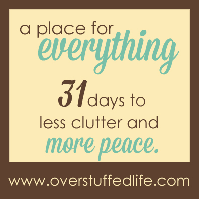 Join the challenge and declutter your life!