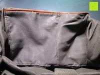 """Tasche hinten: Lederrucksack aus Segeltuch Herren/Damen Rucksäcke Rucksack für den täglichen Freizeitgebrauch 13.3""""(L)*19.6""""(H)*7""""(B)"""